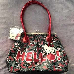 Hello Kitty Purse and zipper purse NEVER USED